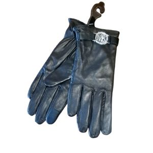 Michael Kors Authentic Genuine Leather Gloves Sm